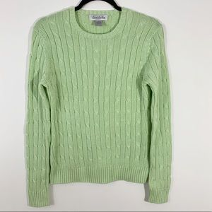 Brooks Brothers . Thick Cable Knit Sweater . M